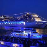 El crucero más lujoso del mundo inicia su recorrido