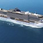 MSC Seaview navega por el Mediterraneo